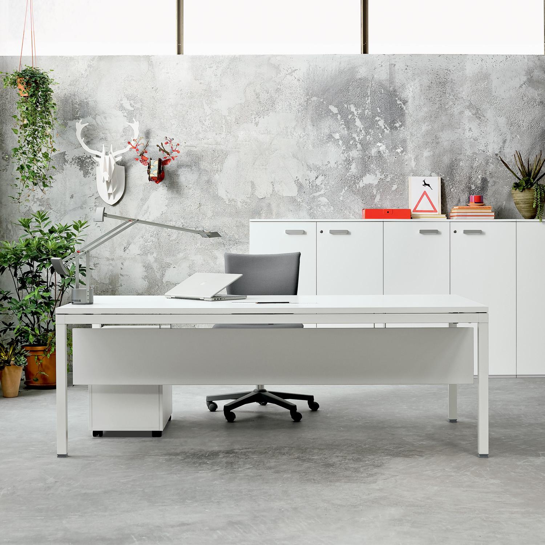 Link Executive Desk + Modesty Panel