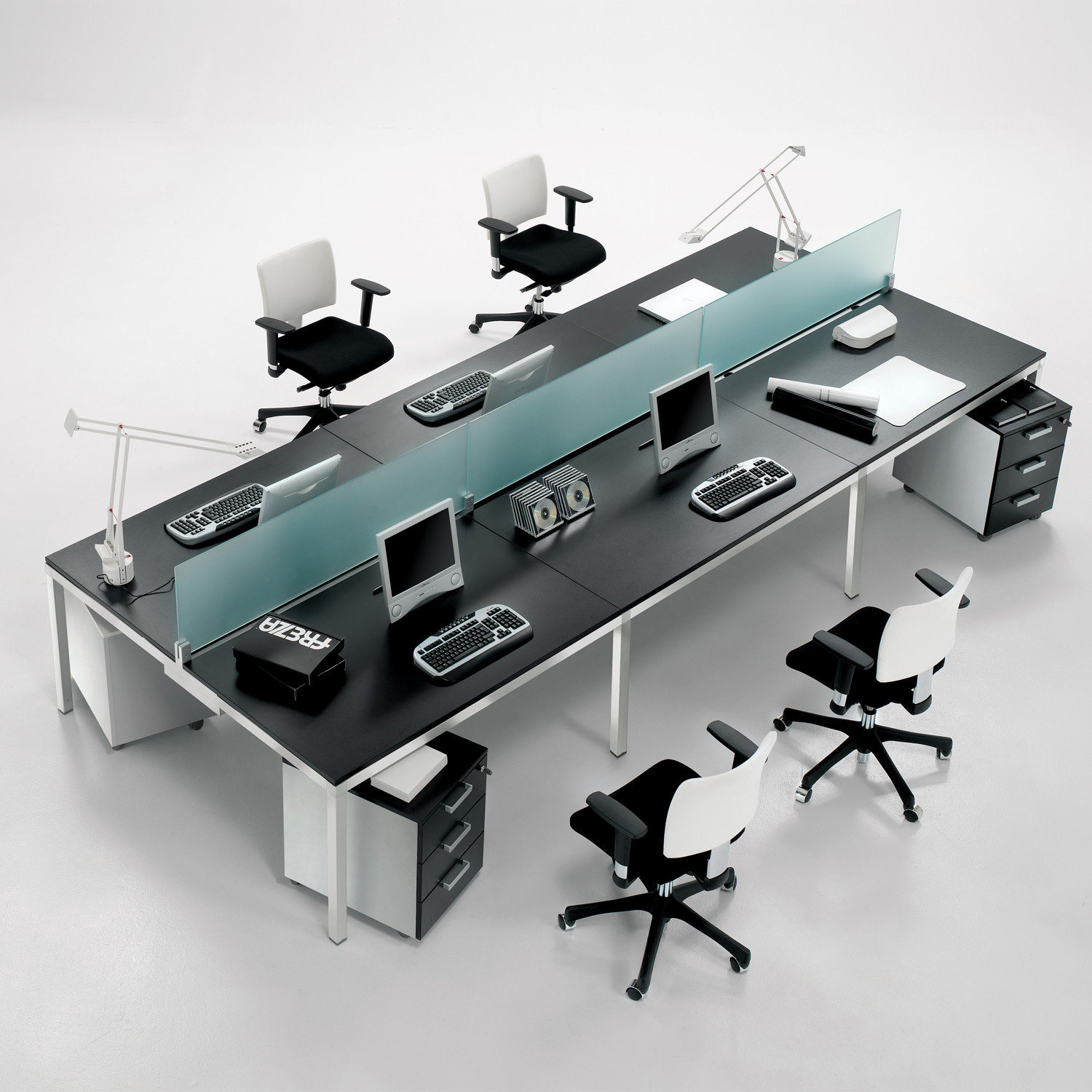 Link Open Office Bench Desk