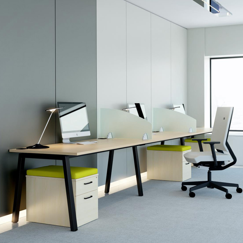 Linnea Single Bench Desk