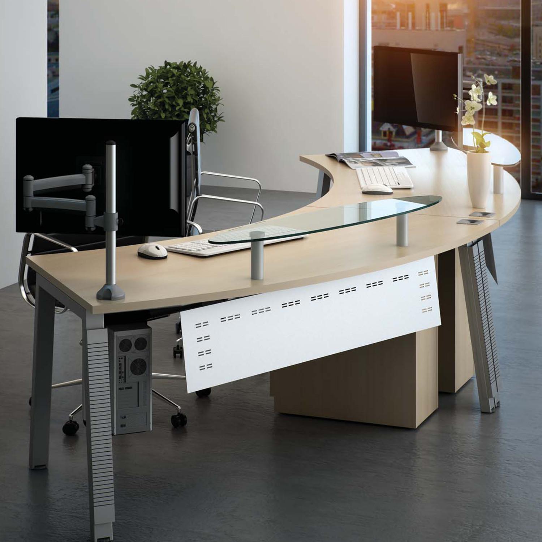 Linnea Executive Reception Desk by Elite