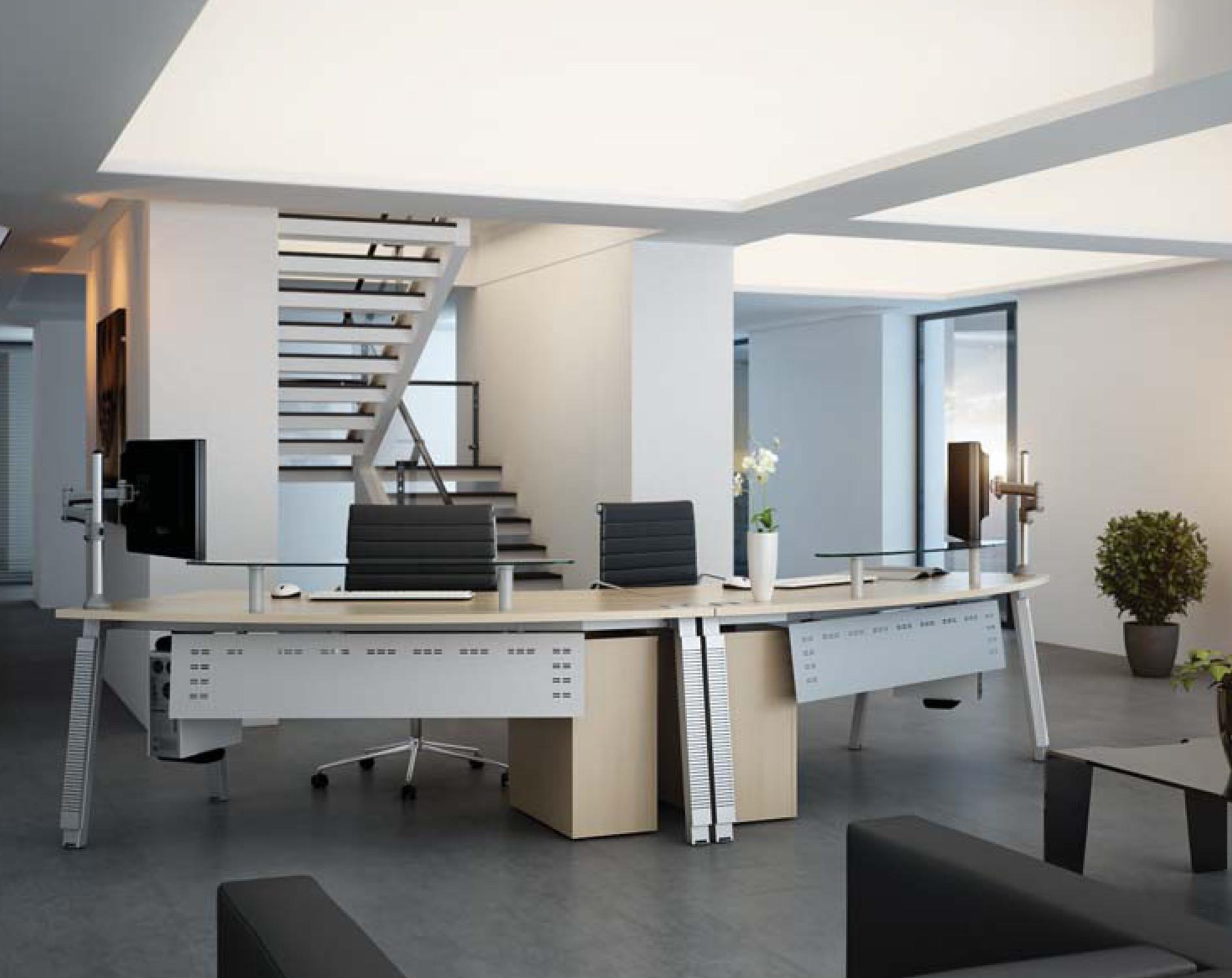 Elite Linnea Twin Reception Desk