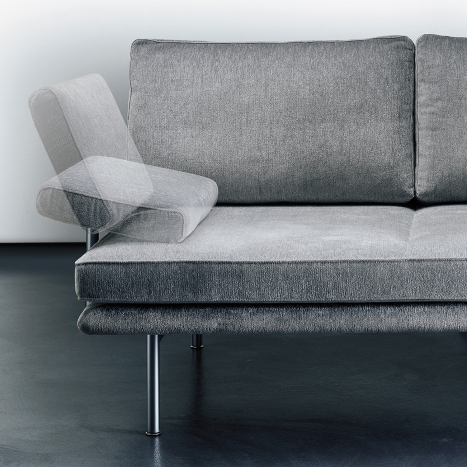Living Platform Sofa in Detail