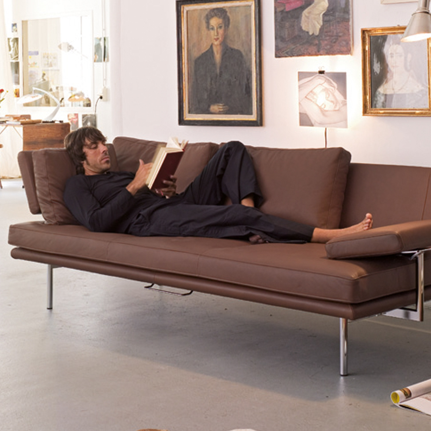 Living Platform Sofa by Walter Knoll