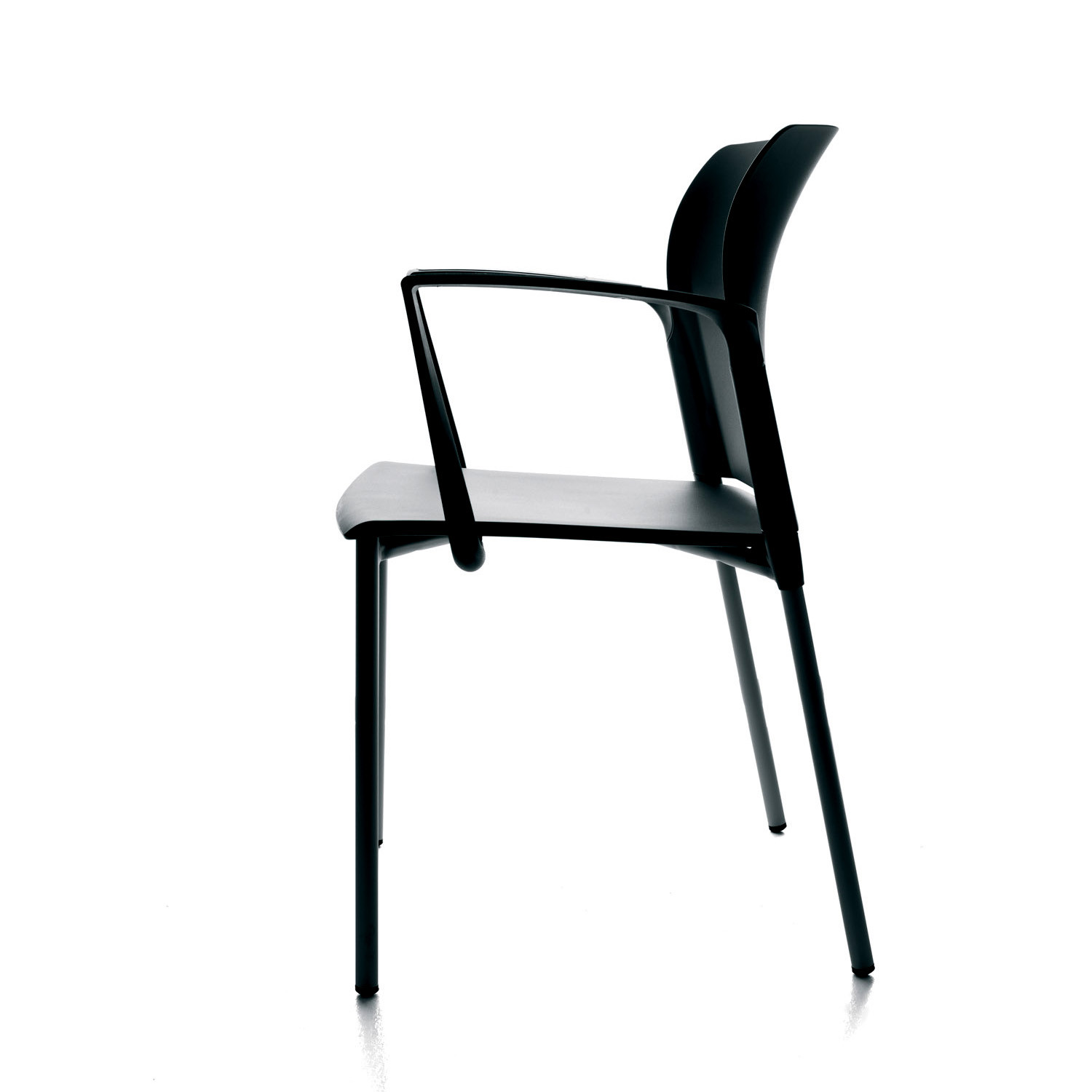Look Visitor Chair with Armrests