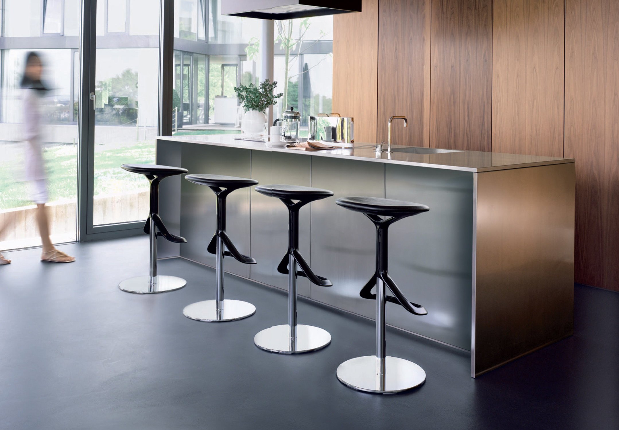 Lox Bar Stool by Walter Knoll