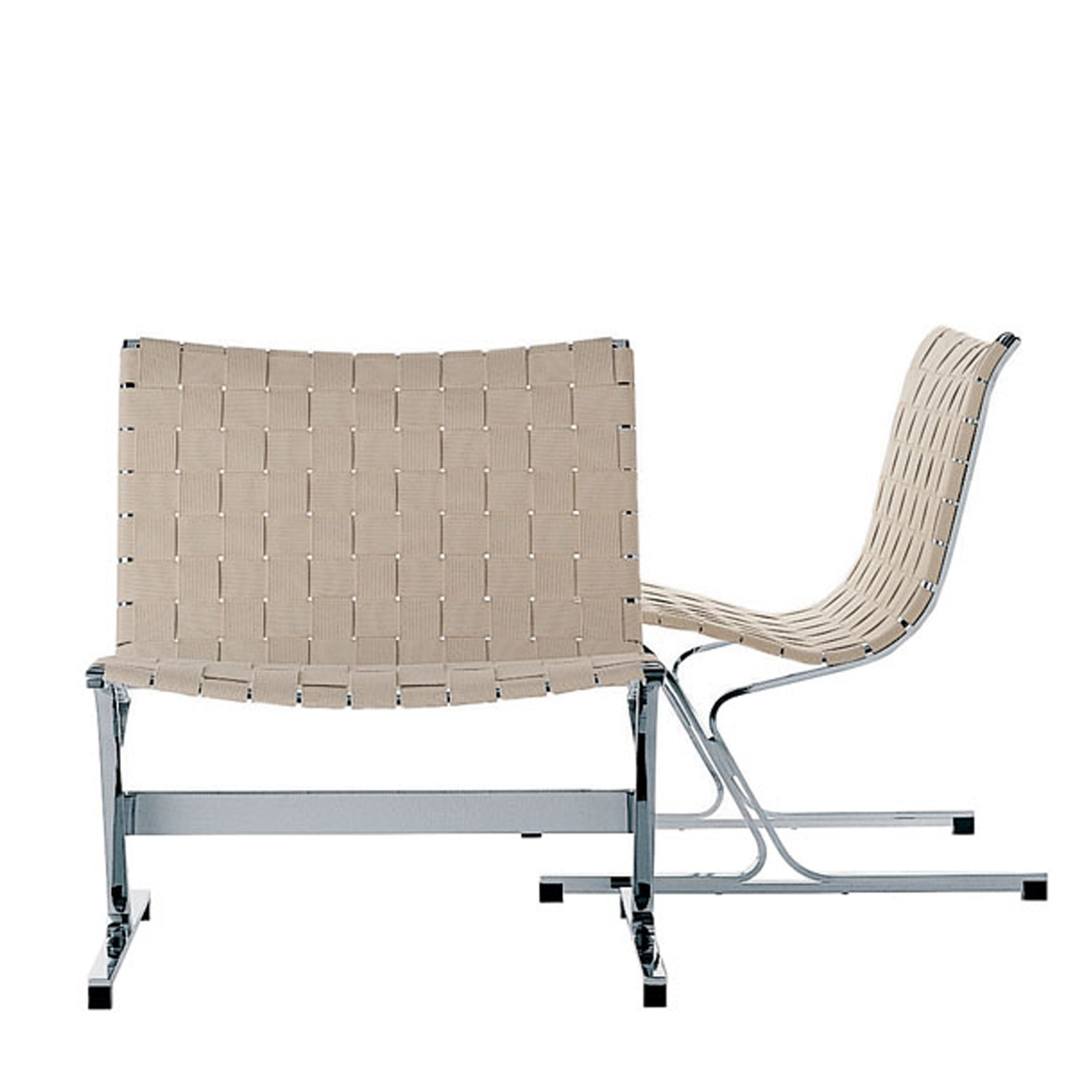 Luar Chair with Fabric Upholstery