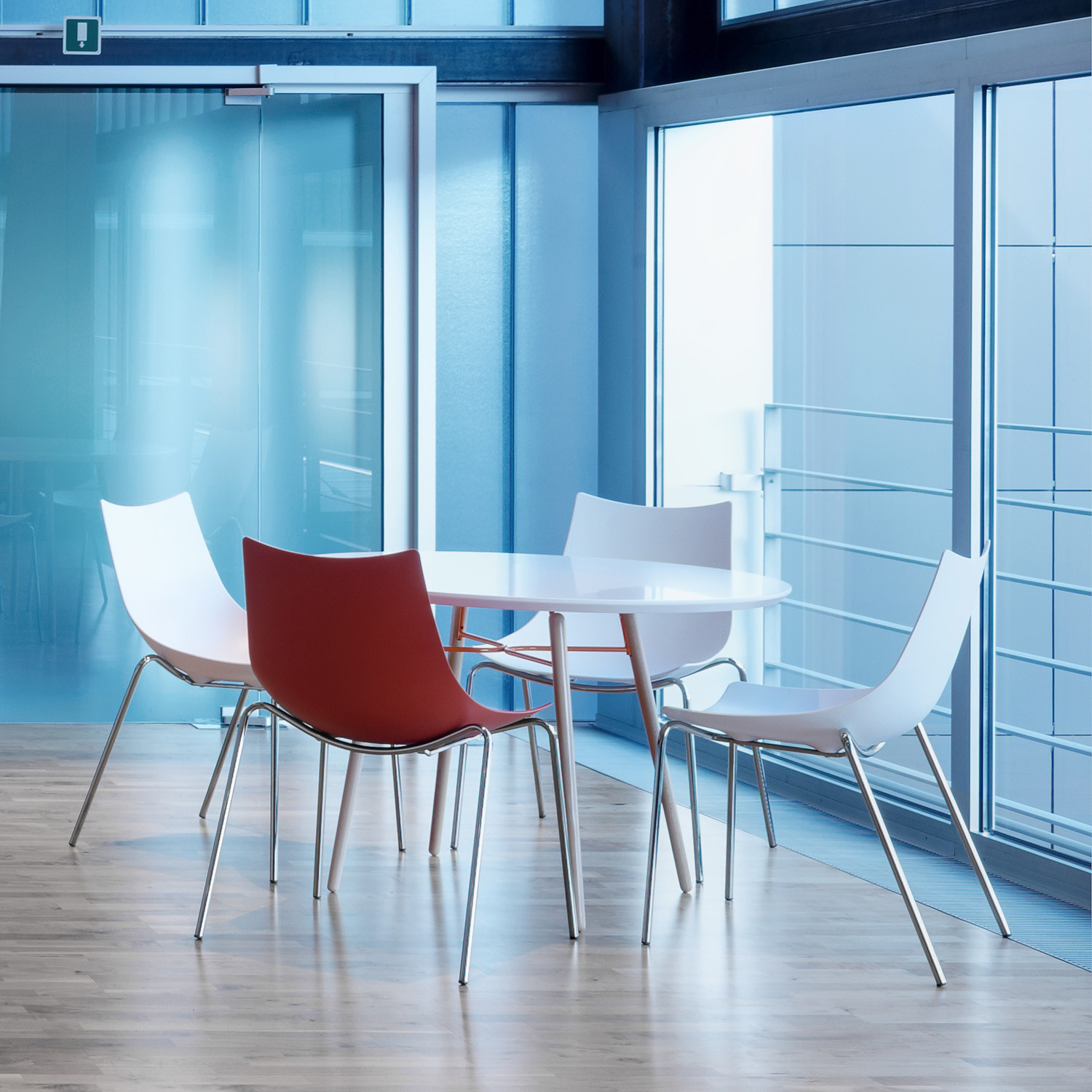 Luc Metal Breakout Chairs