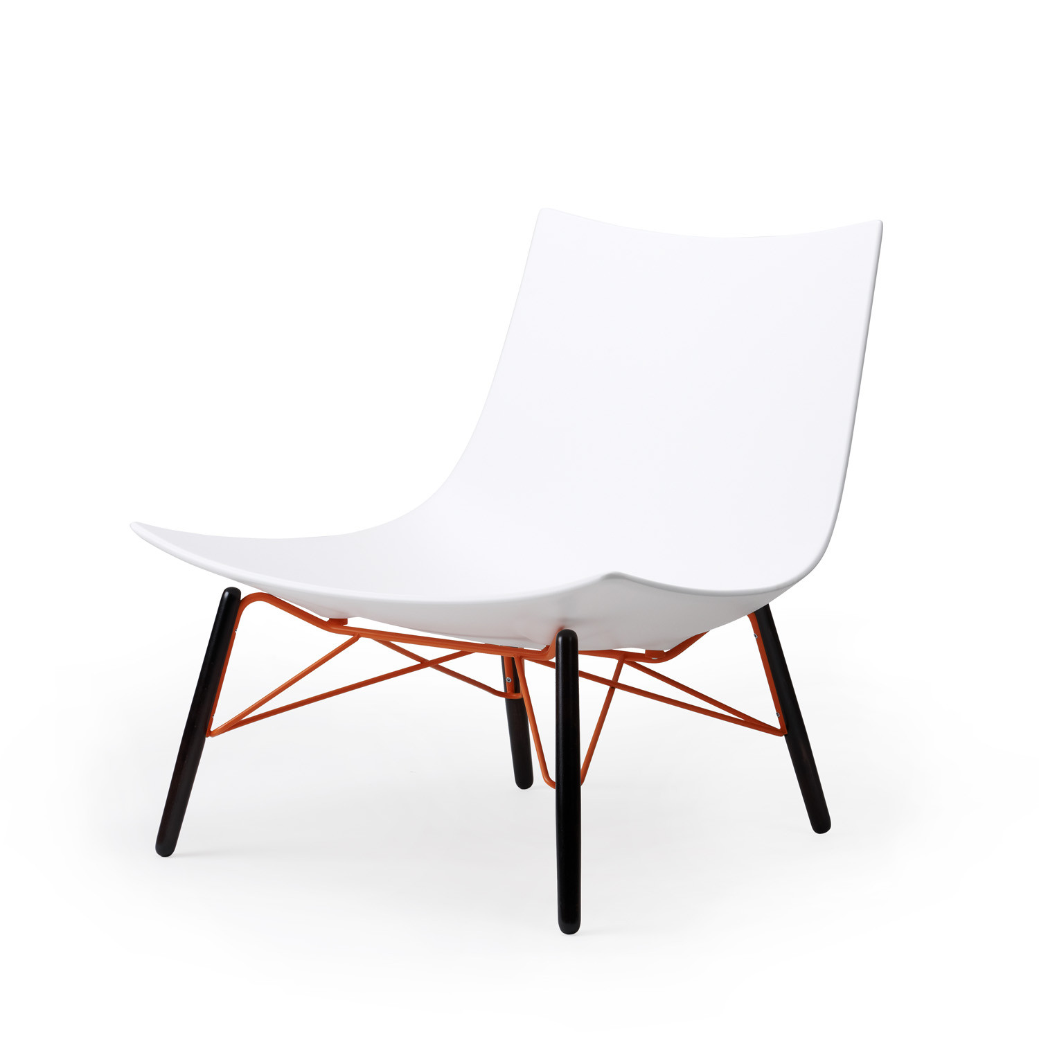 Luc 4-Leg Base Lounge Chair