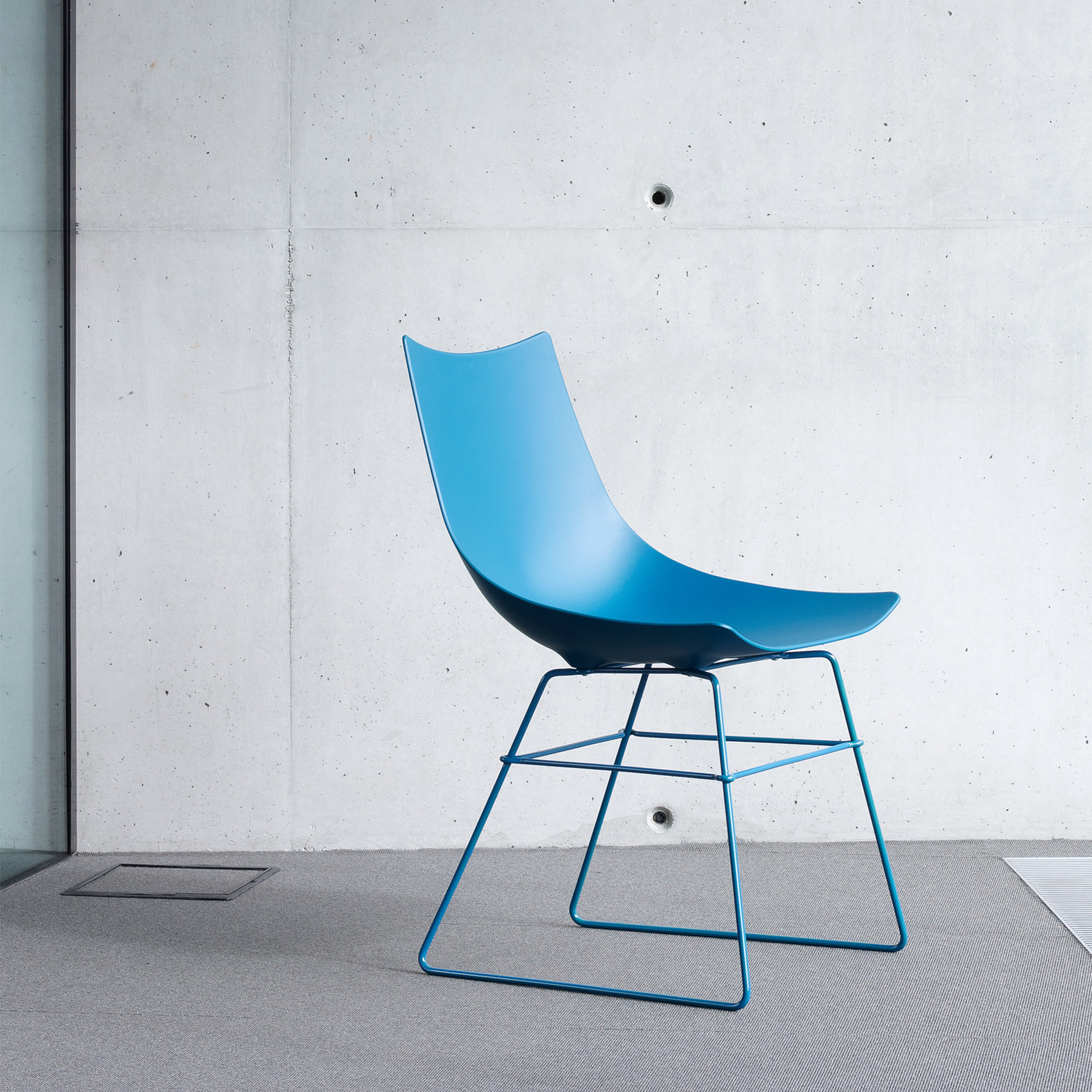 Luc Metal Sled Base Chair
