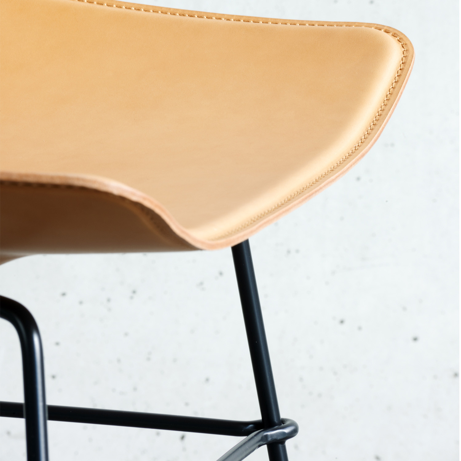 Luc Sled Base Chair from Rossin