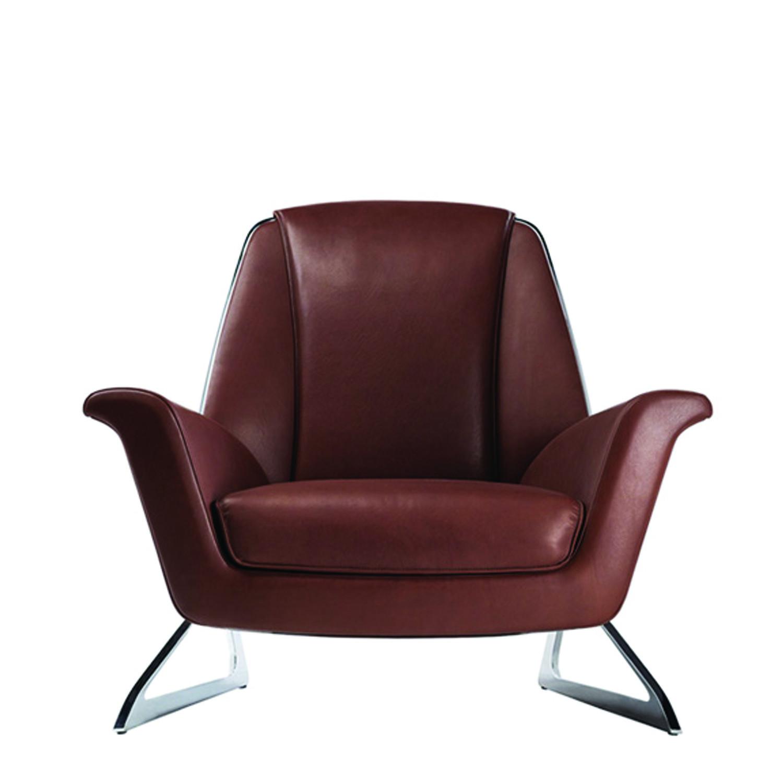 Luft Designer Armchair by Poltrona Frau