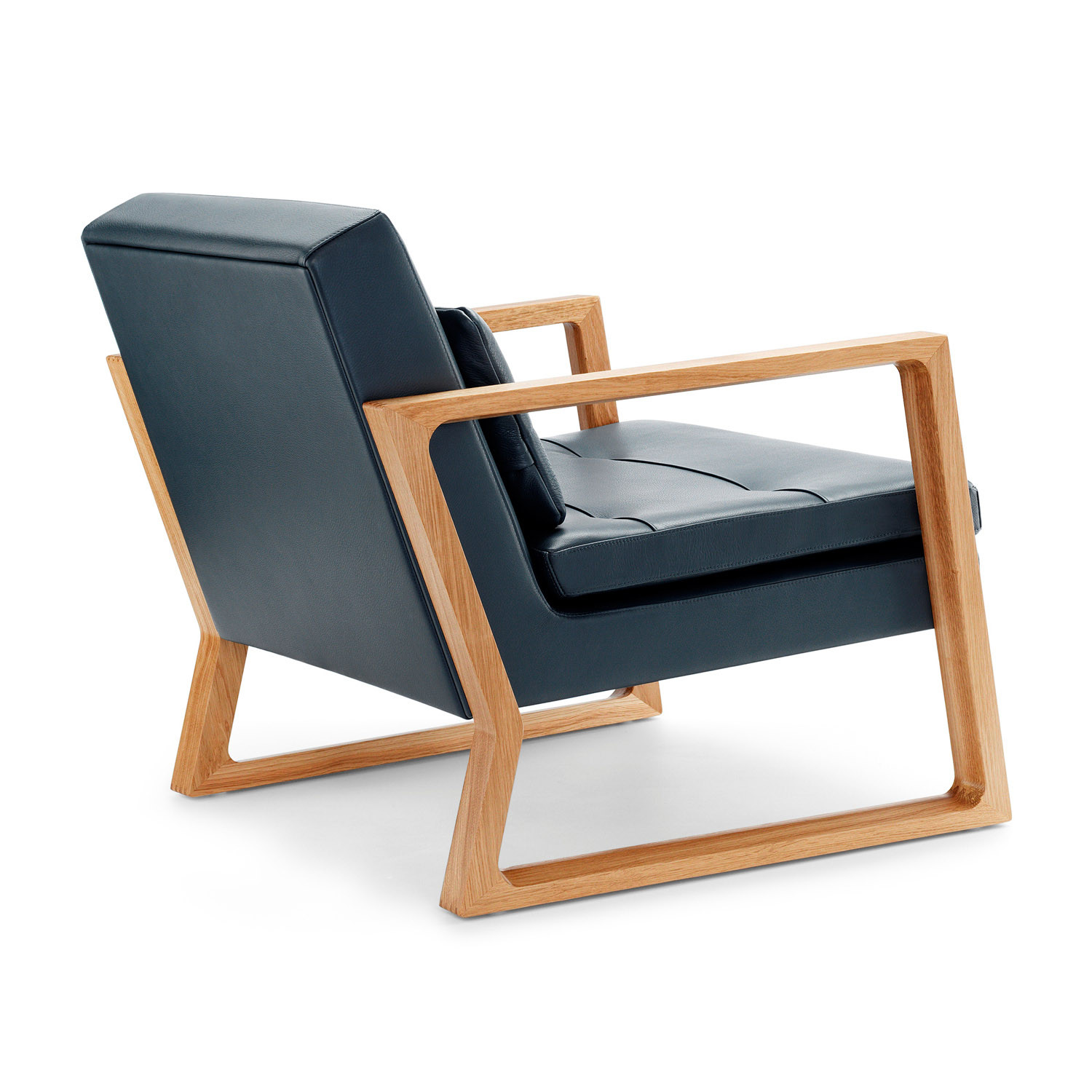 Luge Linen Lounge Chair