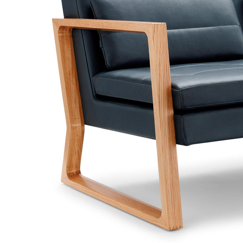 Luge Sofa Frame Detail by Lyndon Design