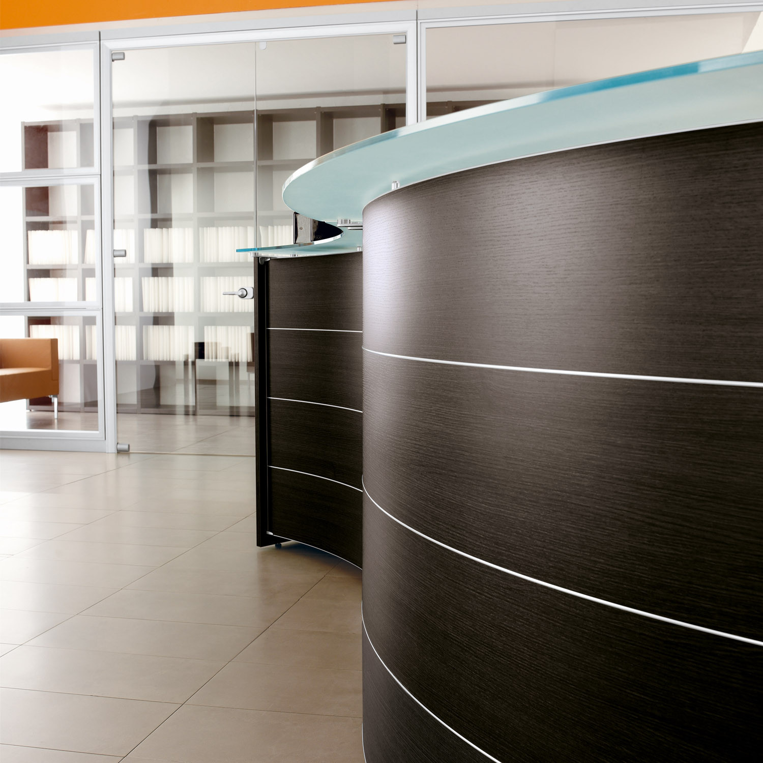 Luna Modular Reception Desk