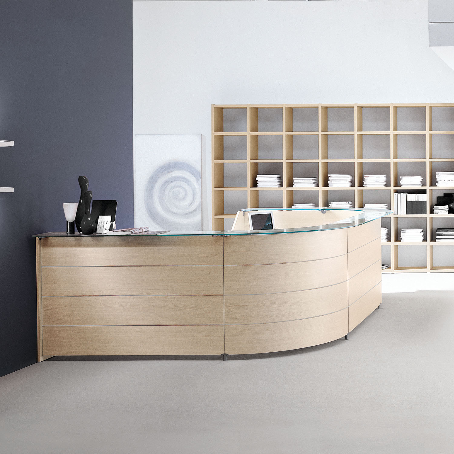 Sinetica Luna Reception Desks