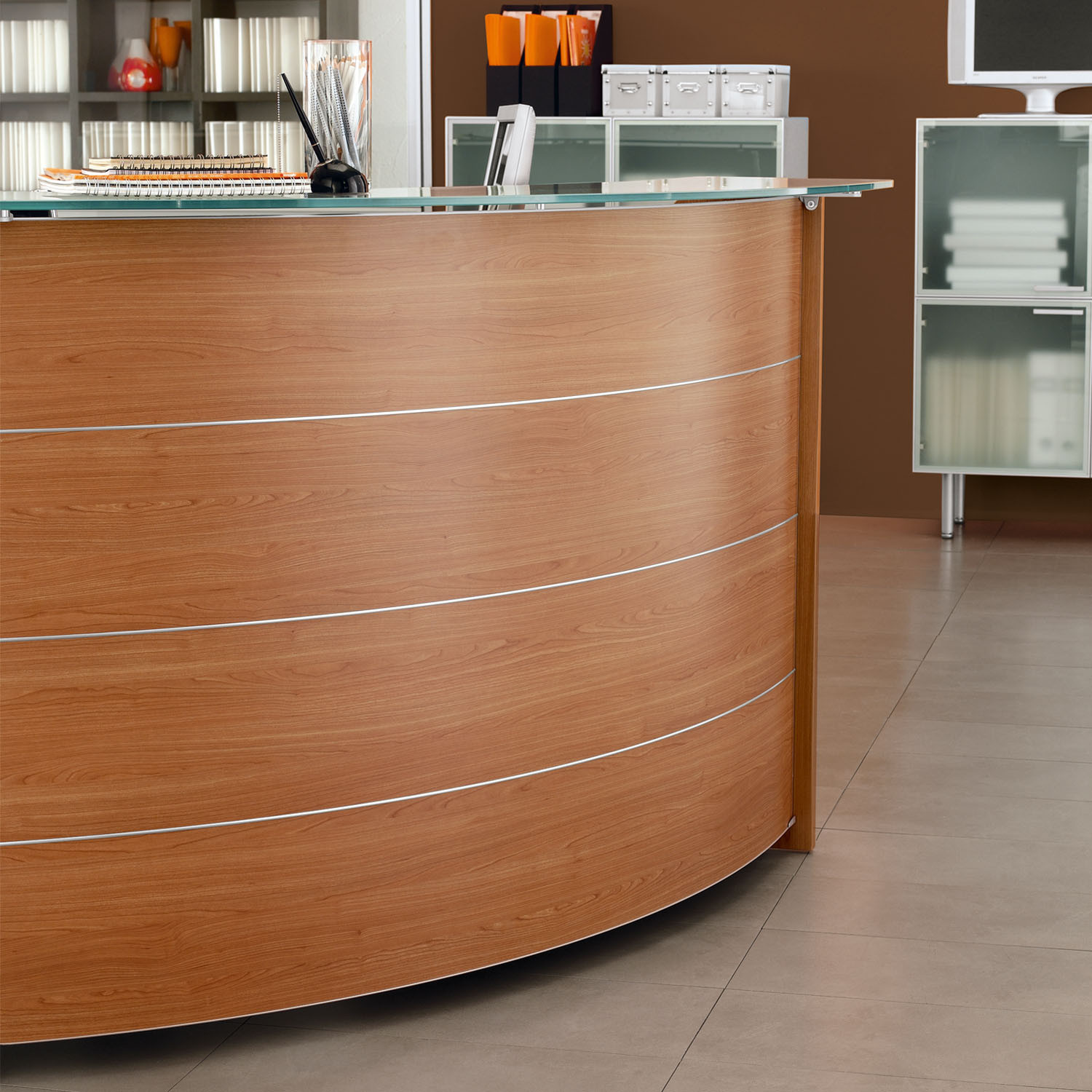 Lunar Modular Reception Desk