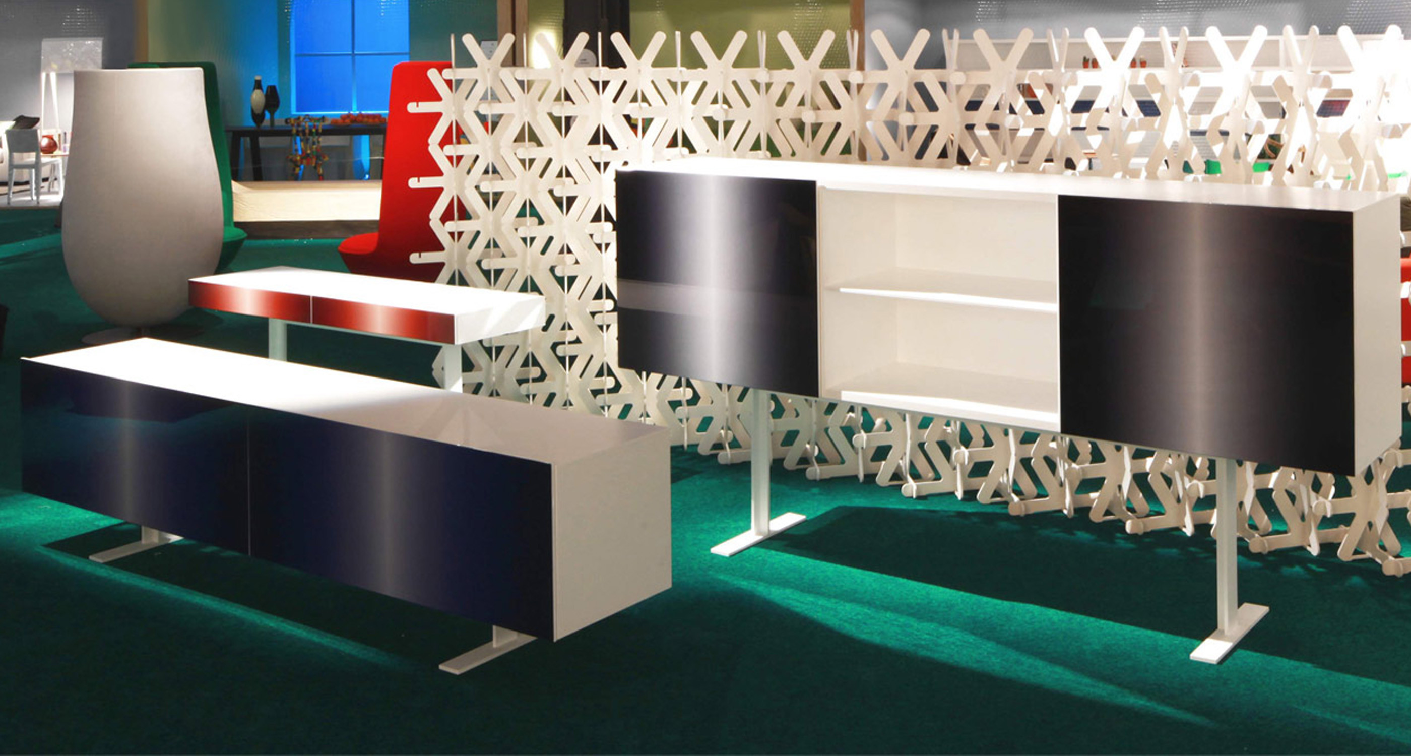 Luxor Fluo Cabinet by Cappellini