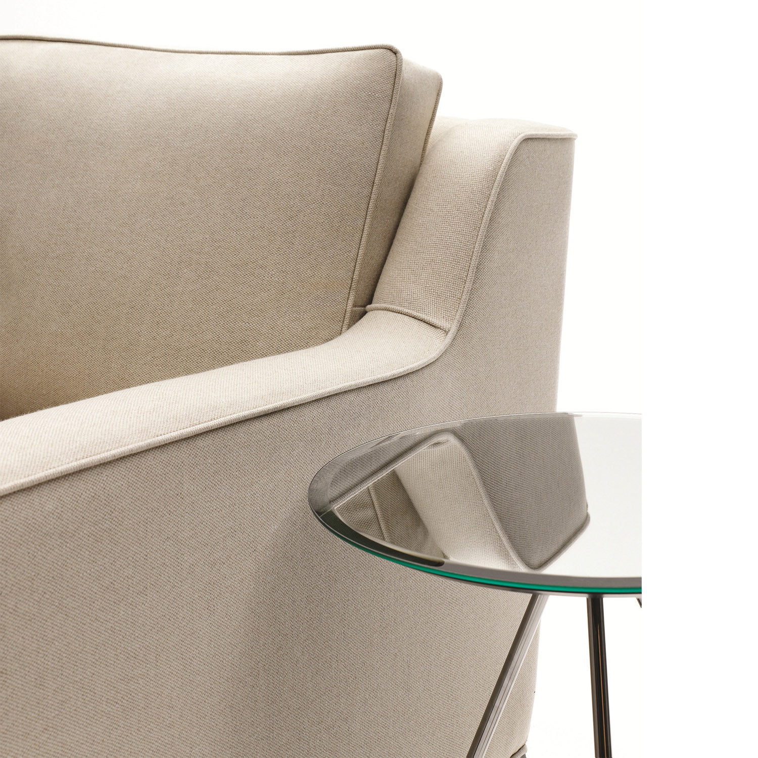 Lysander Sofa and Armchair from Lyndon Design