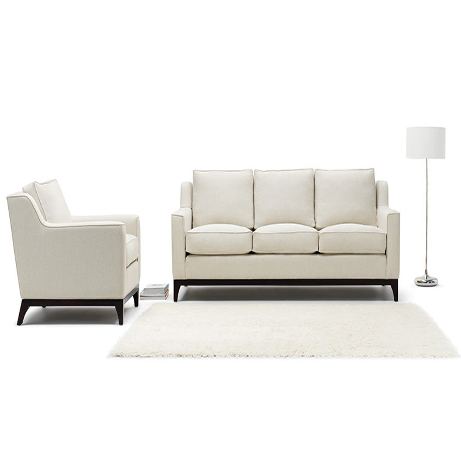 Lysander Large Sofa and Armchair