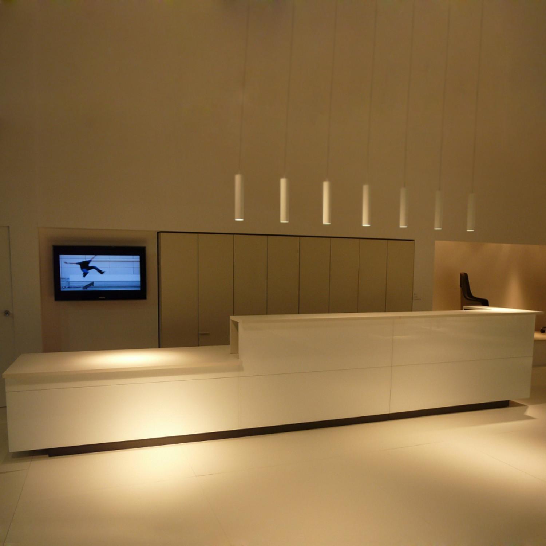 M10 Custom Made Reception Desk