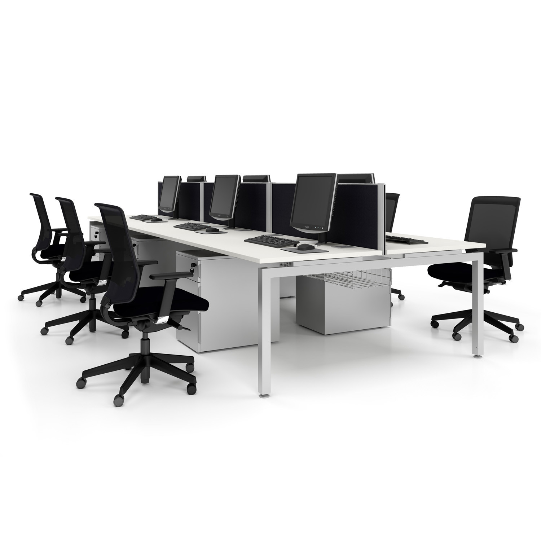 Office Furniture Bench: Modern Office Bench Desking