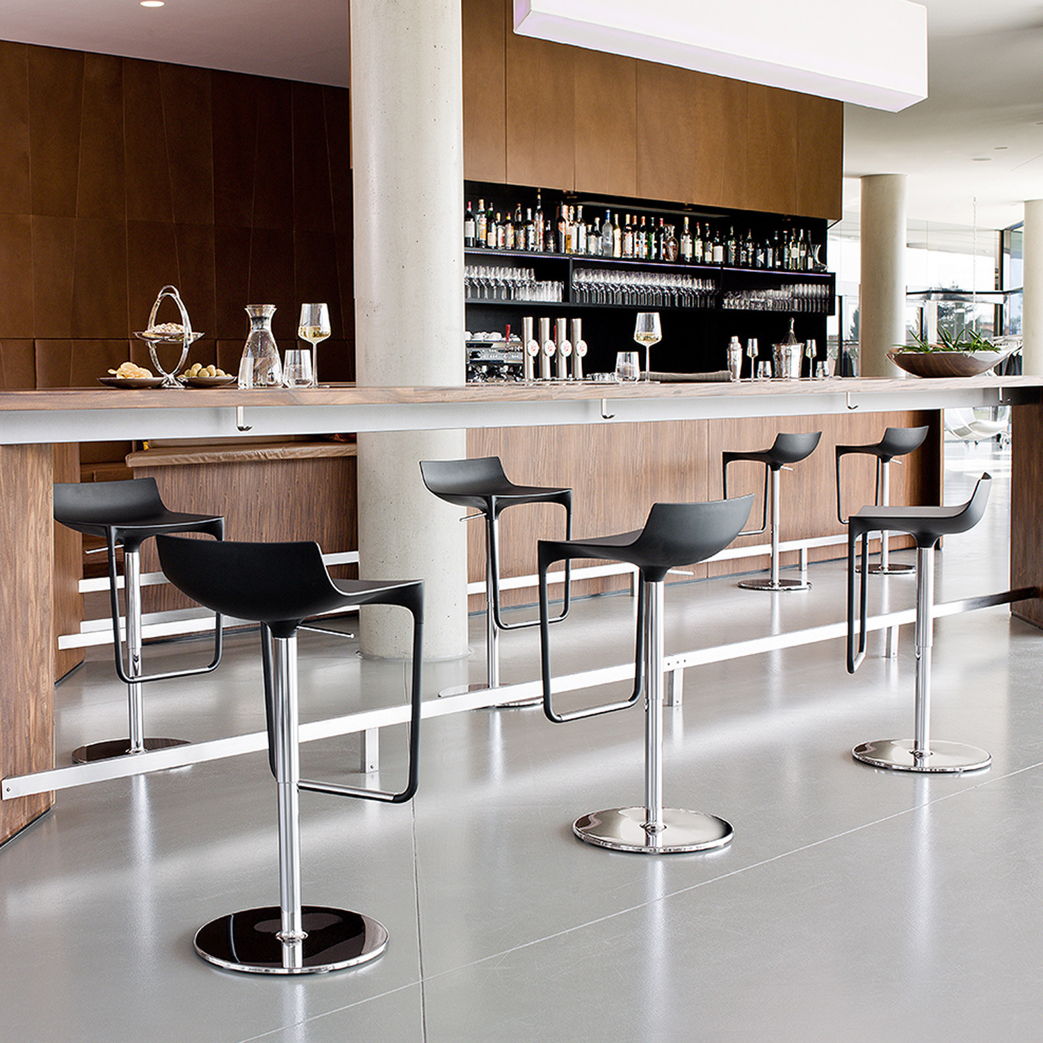 Macao Barstools by Wiesner Hager
