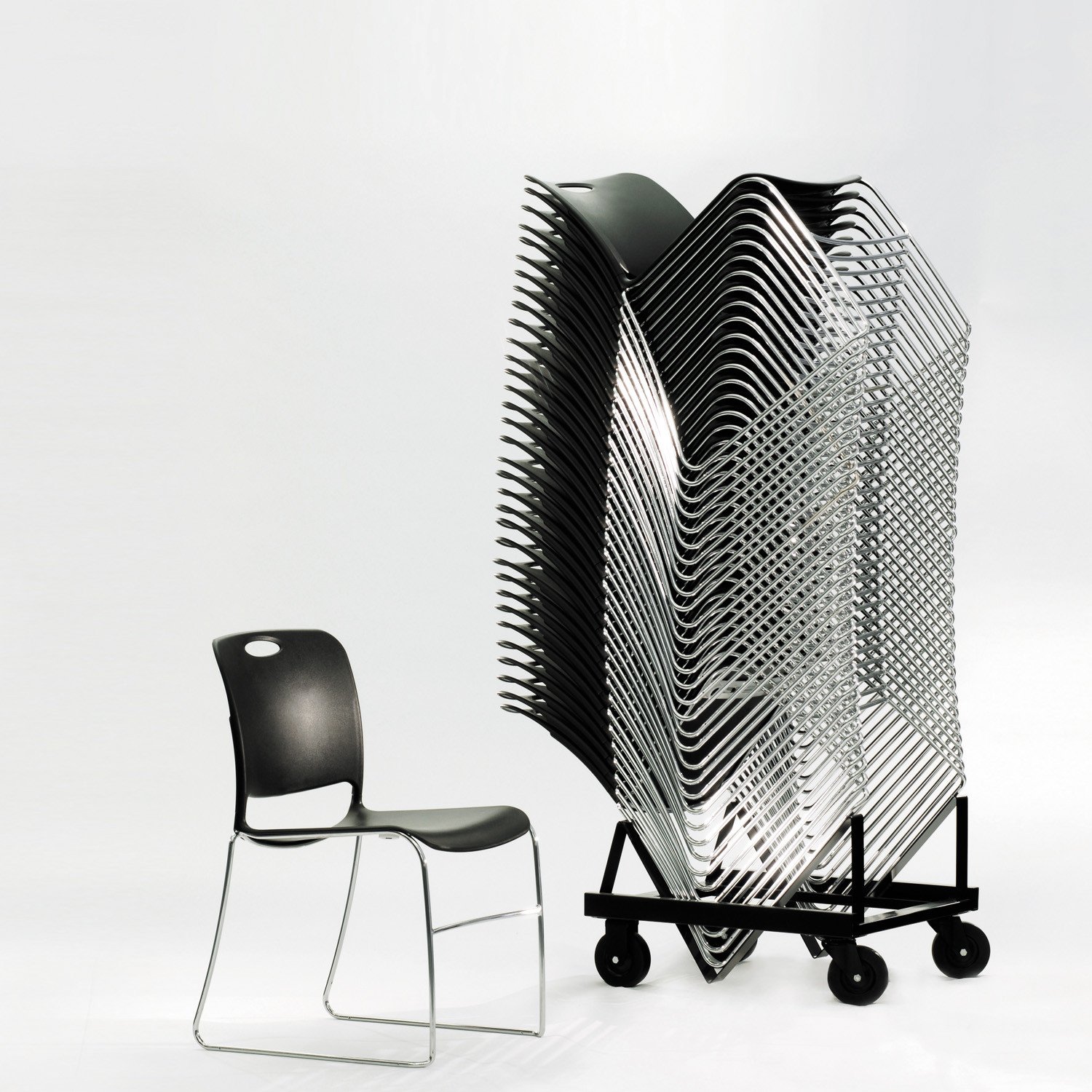 Maestro High Density Stacking Chairs