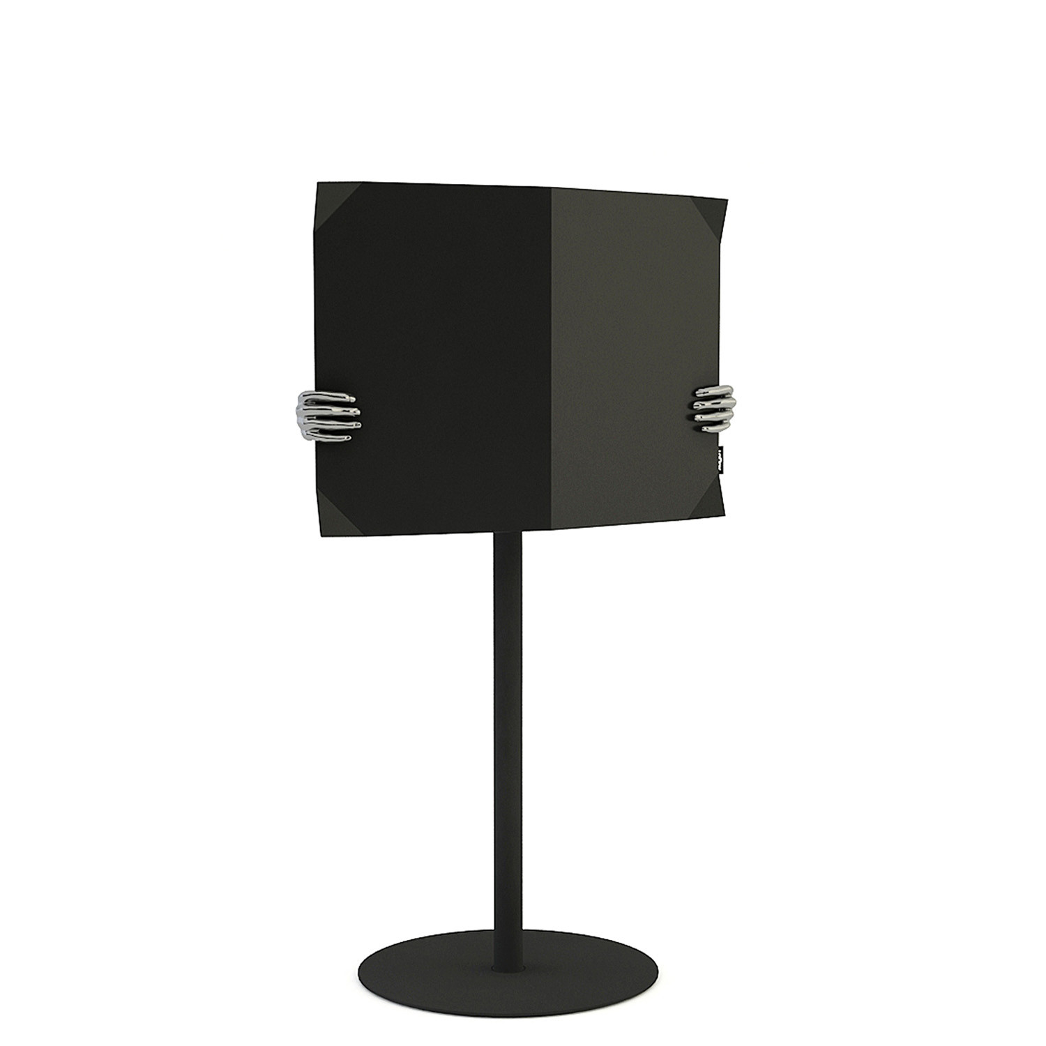 Magazone Touchdown Stand with Privacy Screen