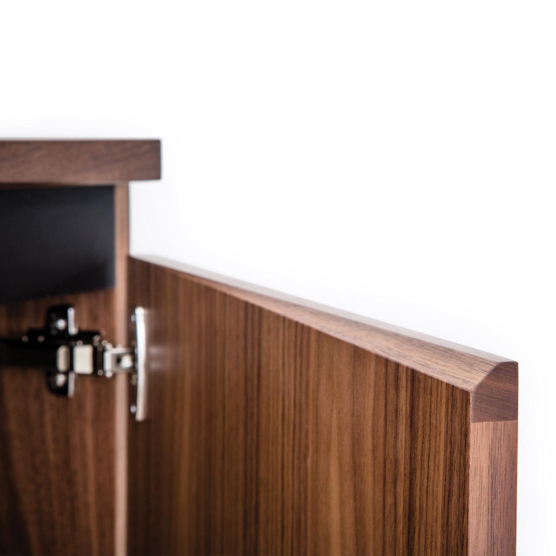 Martin Credenza Cupboard Chamfer Detail
