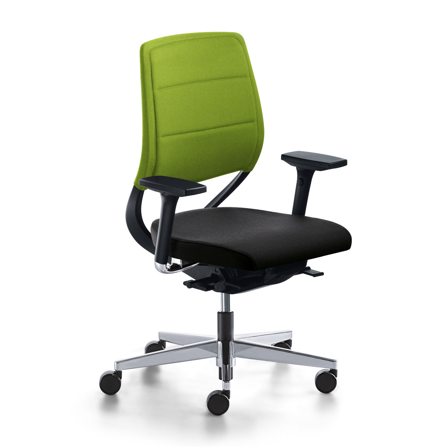 Match Office Swivel Chair with 3D Armrests