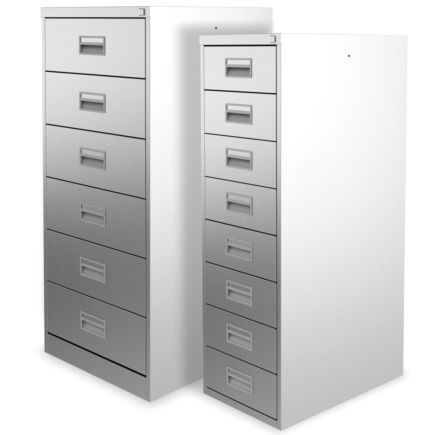 Media Card Index Cabinets by Silverline