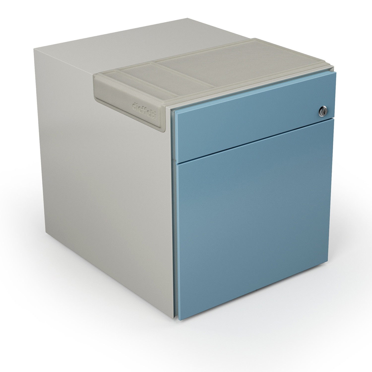 Mia Ped 1 file drawer + 1 stationery drawer