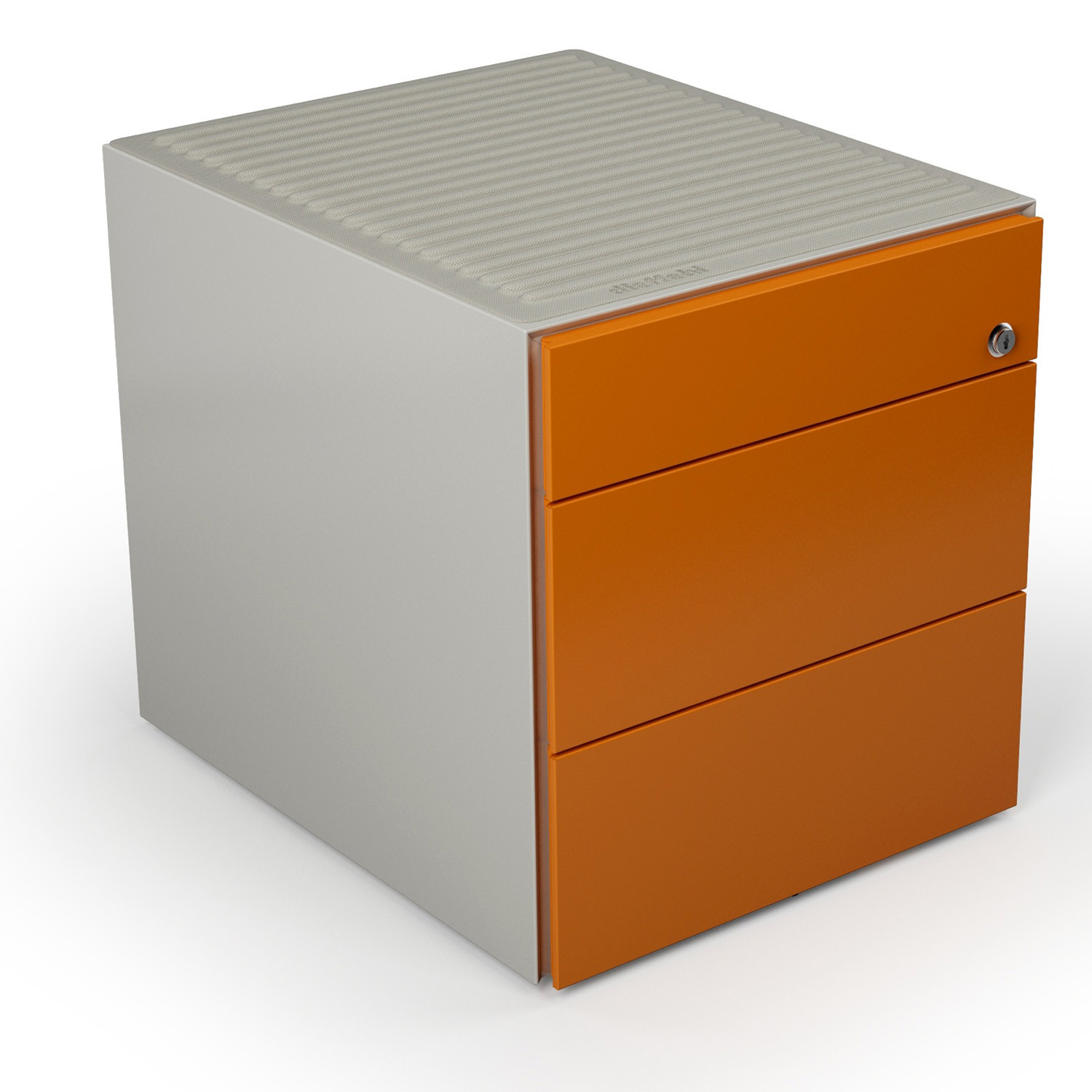 Mia Ped Pedestal 2 drawers + 1 stationery drawer