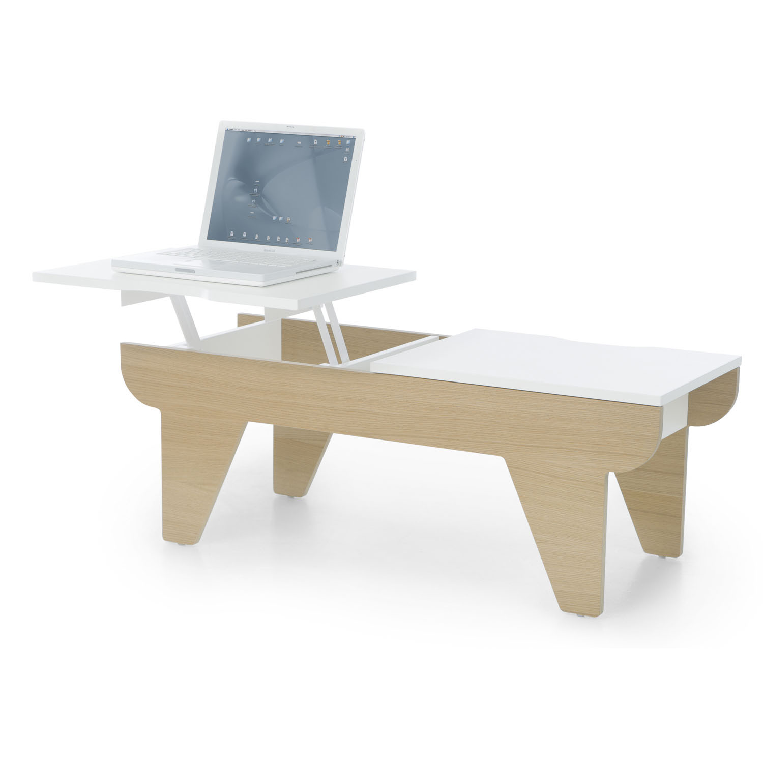 Chillout Desk with Integrated Laptop Holder