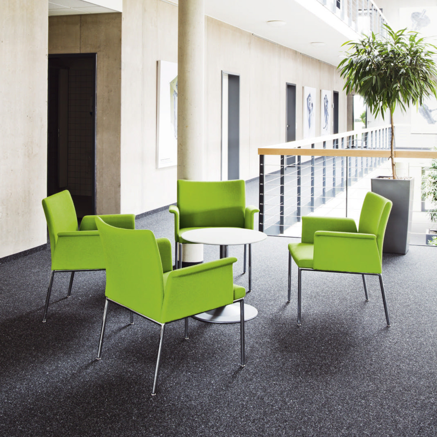 Milano Upholstered Seating for Waiting Areas