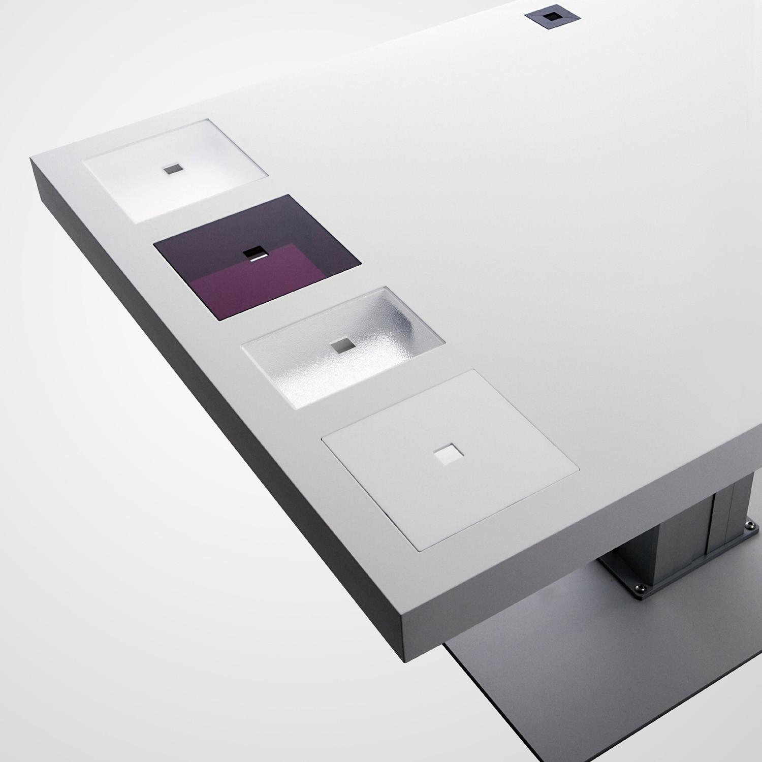 Milk Desks Side View