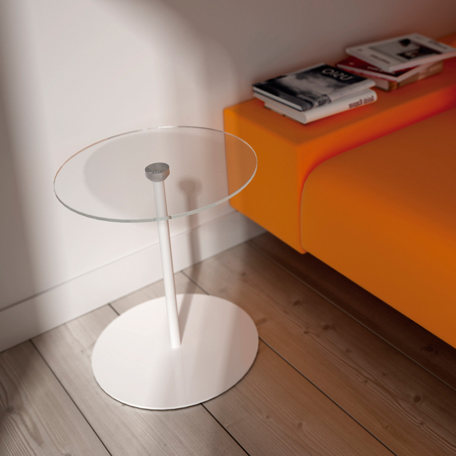 Mill Glass Side Table