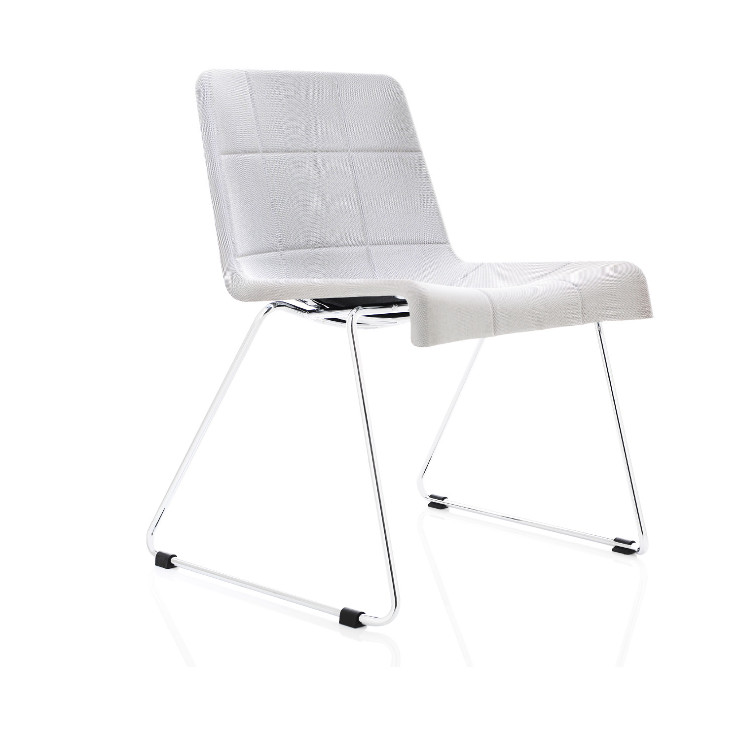 Millibar Lounge Chair on sled base