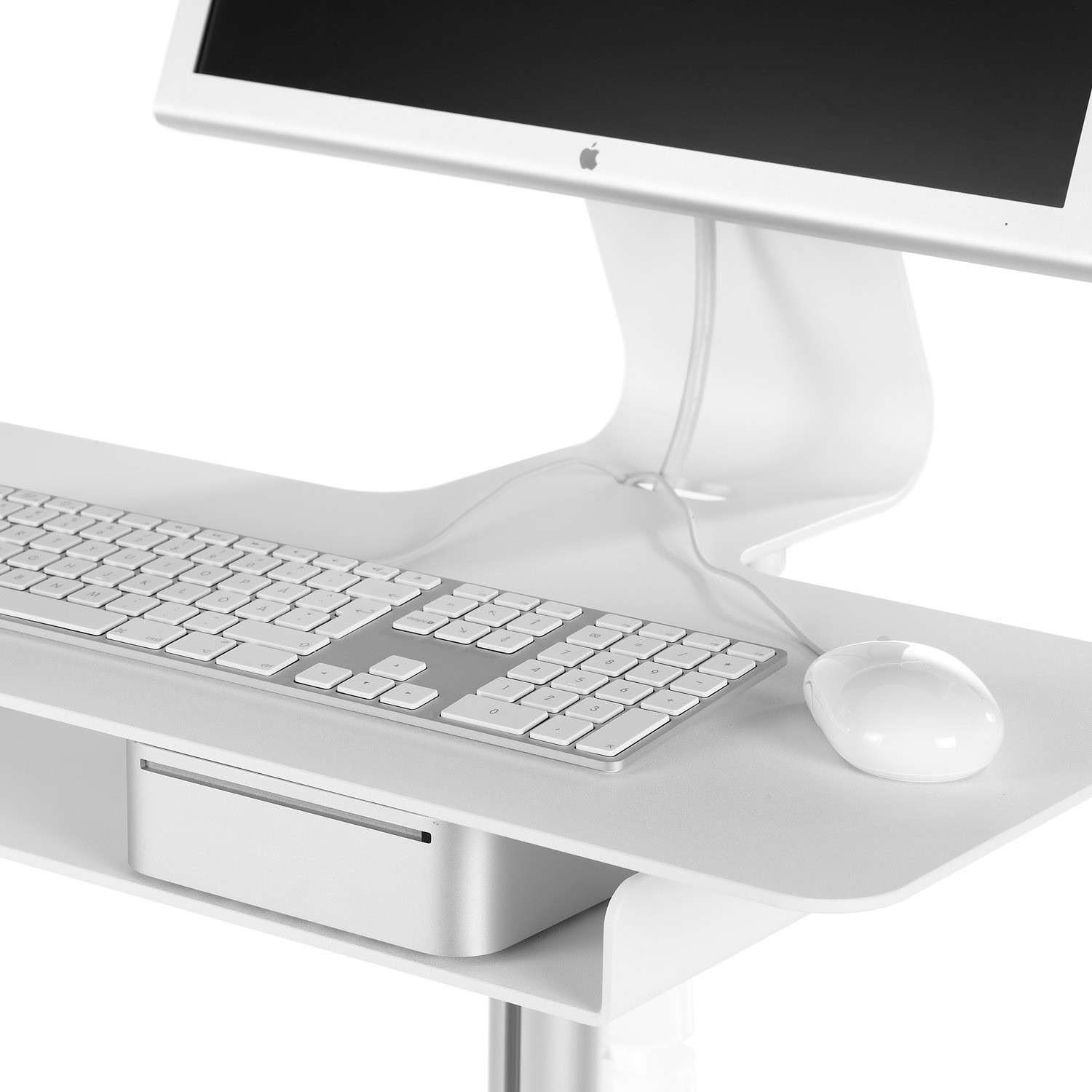 Mixx Lectern with Keyboard and Mouse