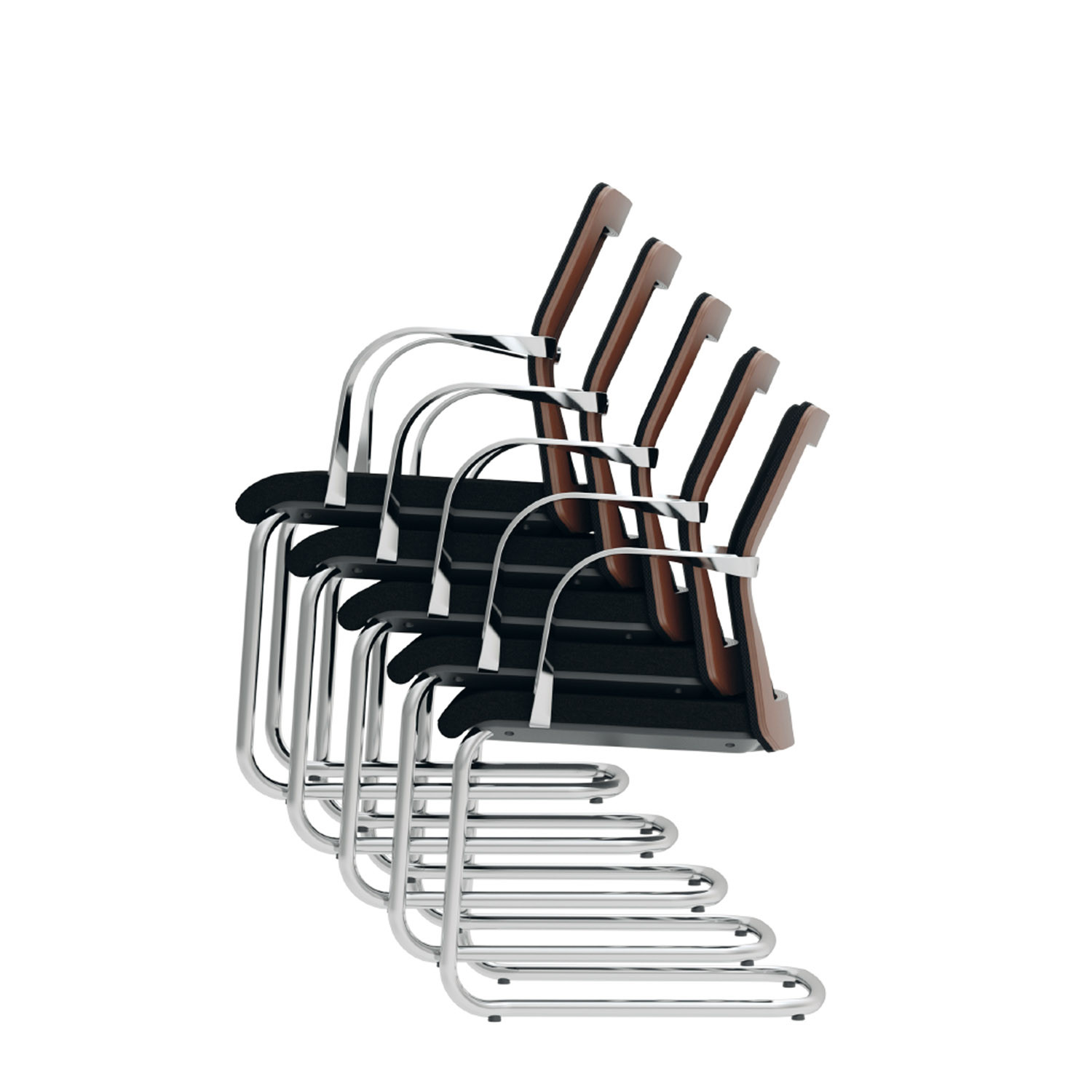 MN1 Cantilever Stacking Chairs