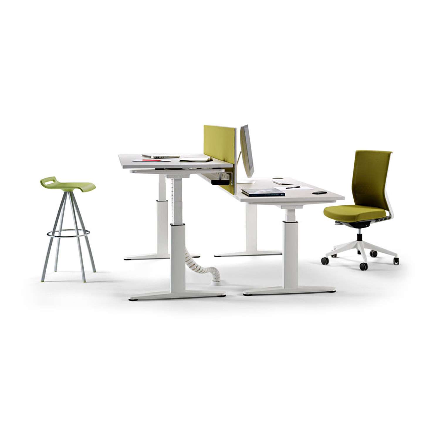 Mobility Height Adjusted Desks by Actiu