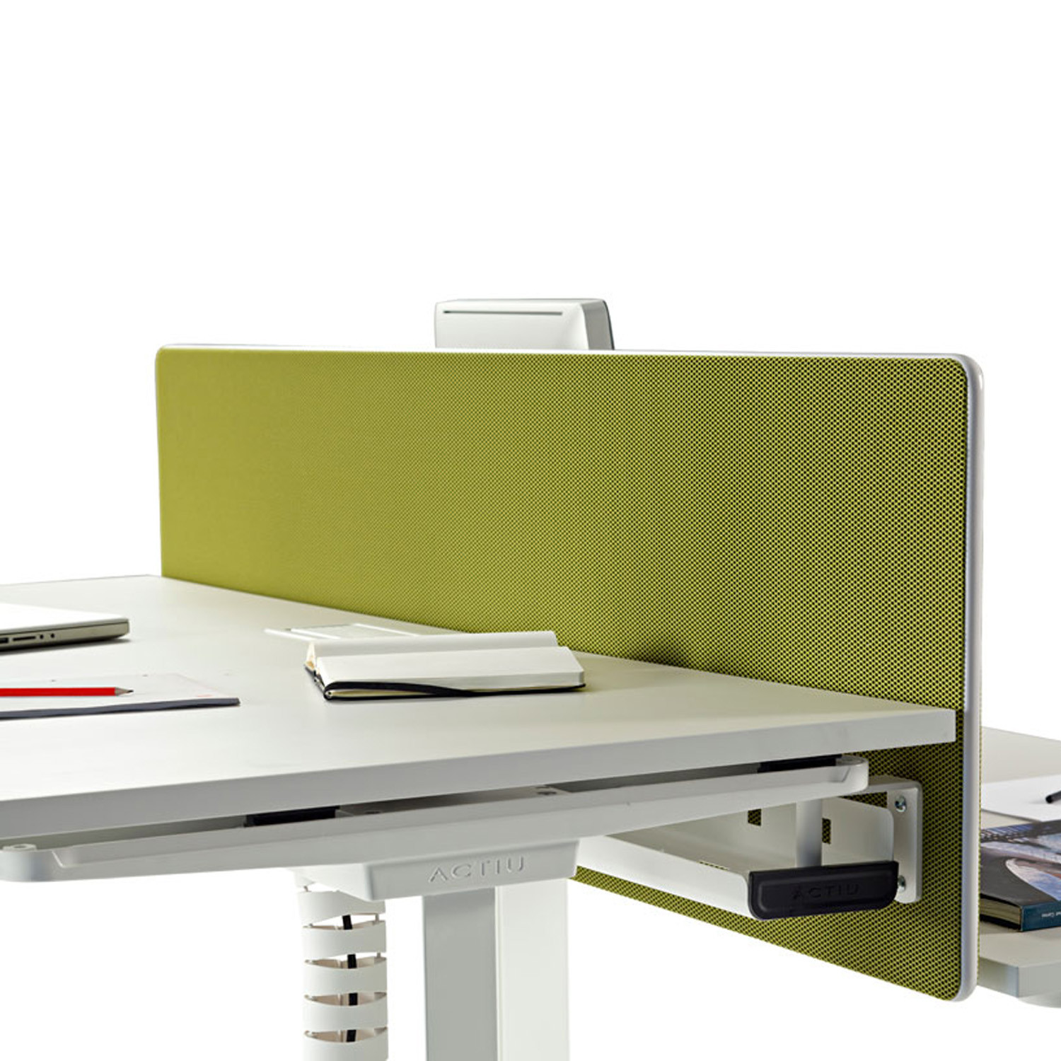 Mobility Height-Adjustable Desk Screen Divider