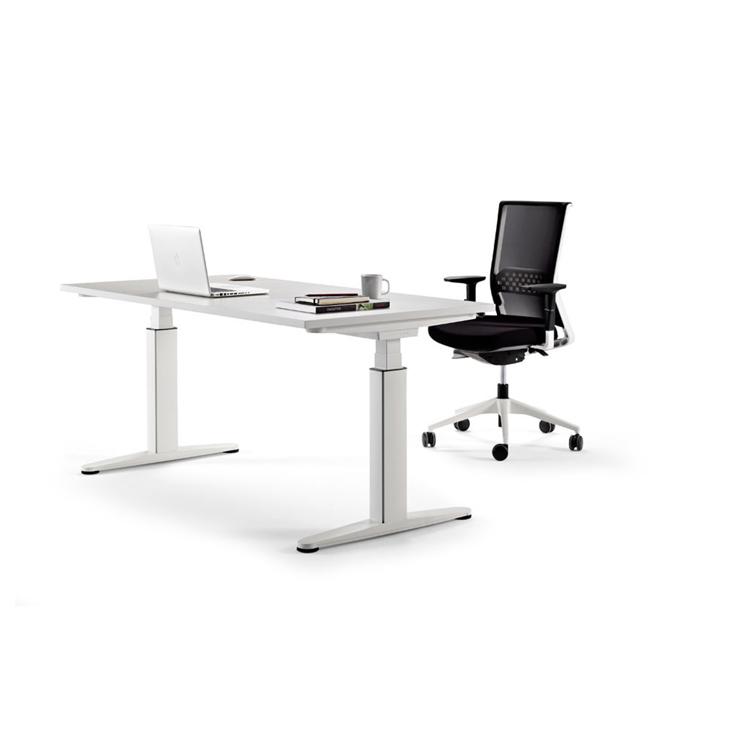 Mobility Height-Adjustable Desk