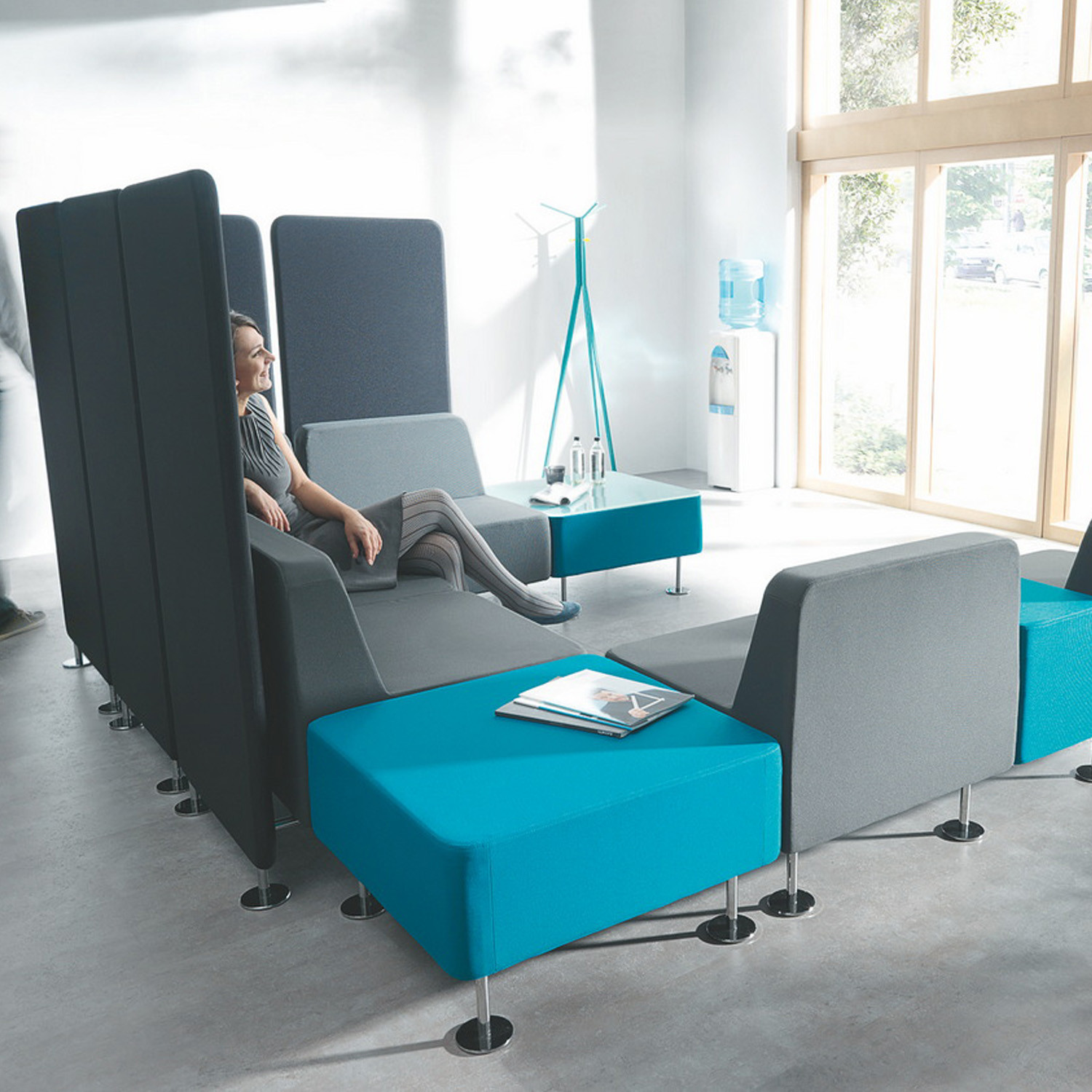 Mobius Modular Soft Seating