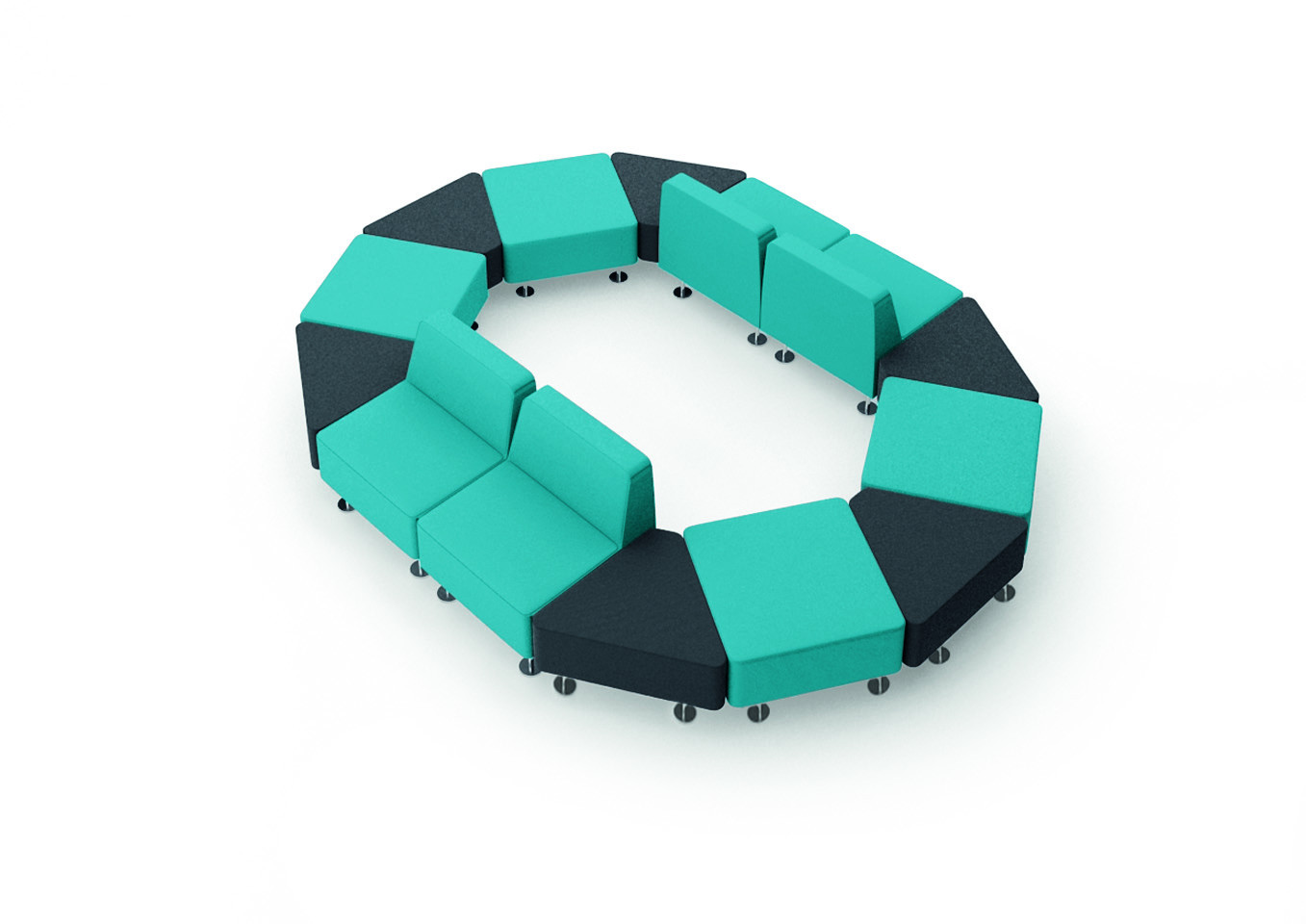 Mobius Reception Seating