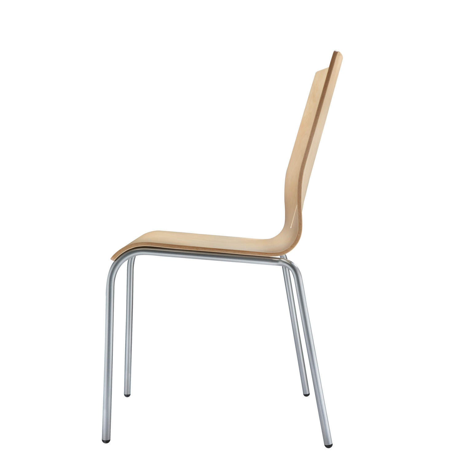 Mocha Stacking Chair MM01A by Connection