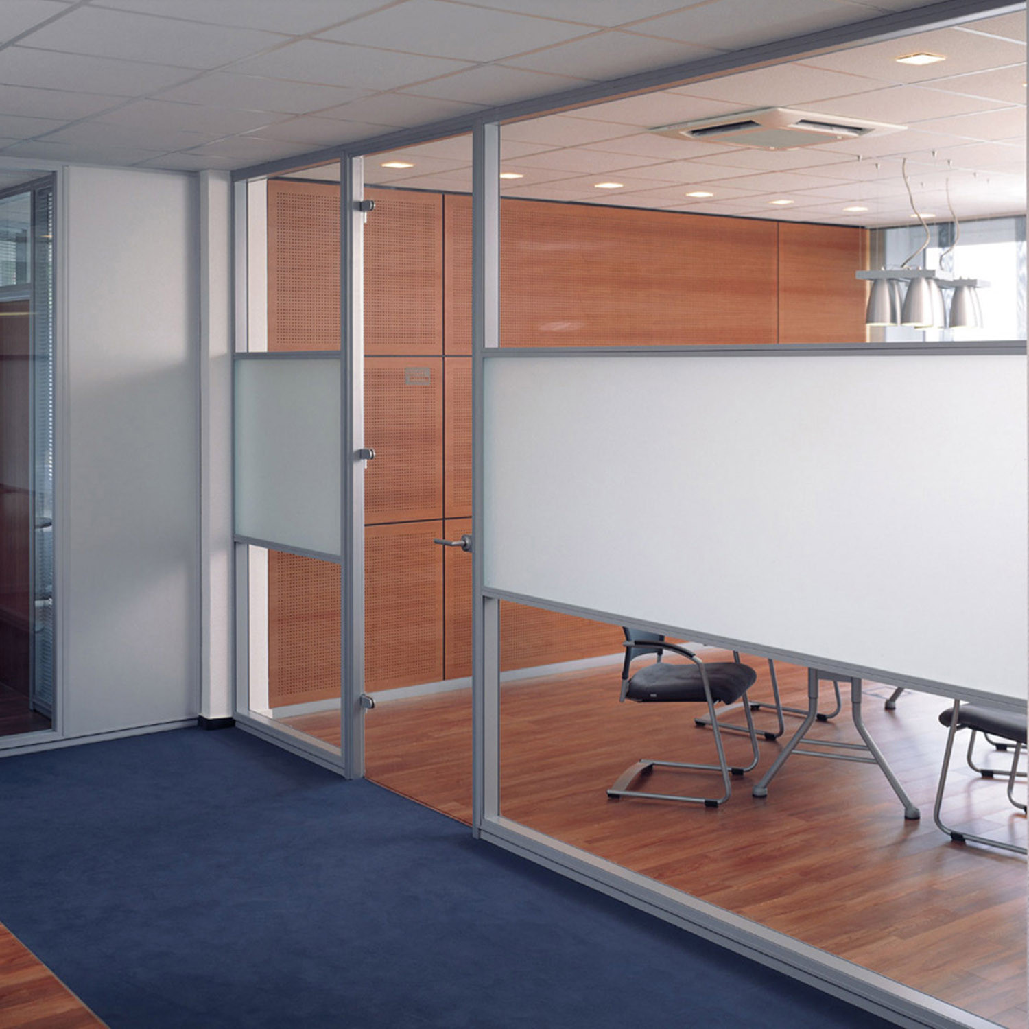ModulASS Glass Partition with Frosted Glass