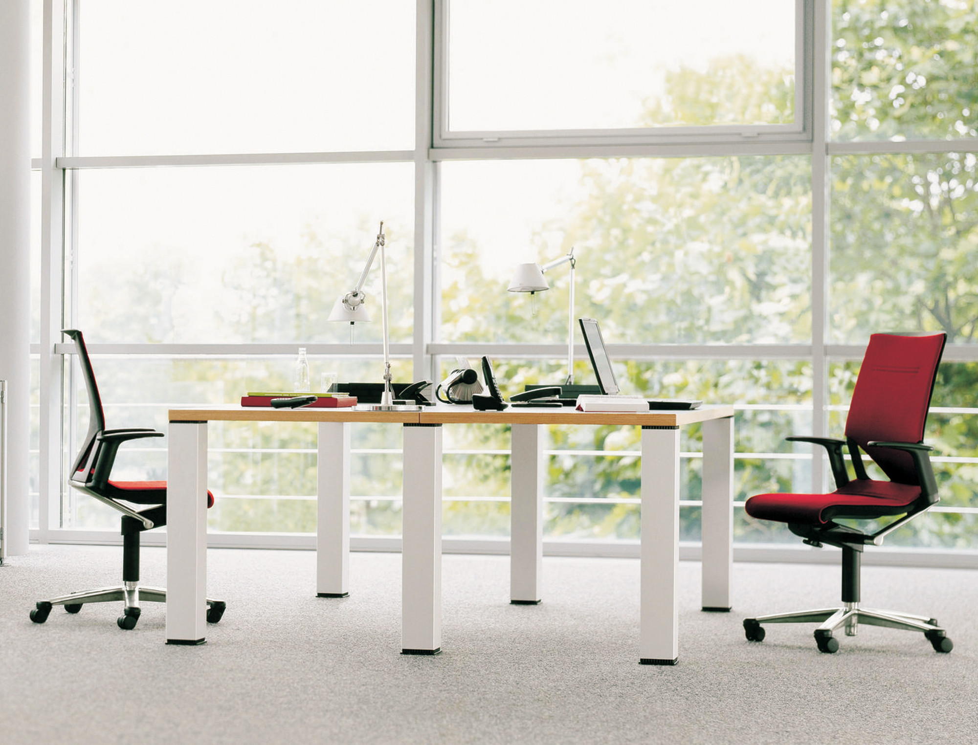 Modus Compact Swivel Chairs by Wilkhahn