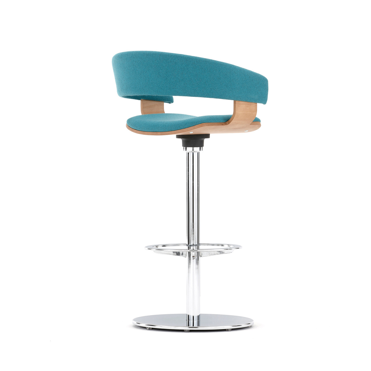 Molli Bar Stool With Swivel Base