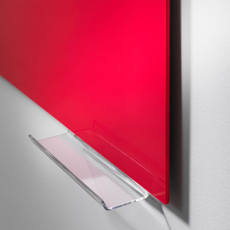 Mood Glass Board with Pen Shelf